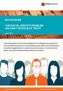 Goode Intelligence White Paper - The Digital Identity Problem Solving the Issue of Trust_front cover