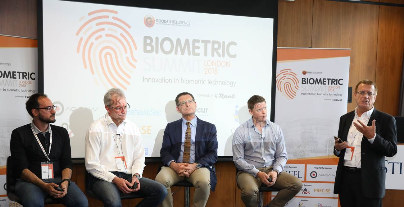 UK Biometrics Showcase panel