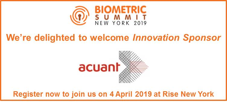 Warm welcome to Acuant - Innovation sponsor
