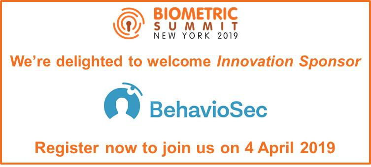 Warm welcome to BehaviioSec - Innovation sponsor